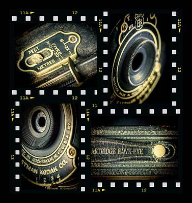 Camera Collage Poster by Rudy Umans