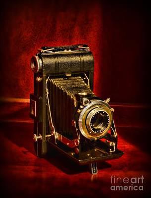 Camera - Eastman Kodak Folding Camera Poster by Paul Ward