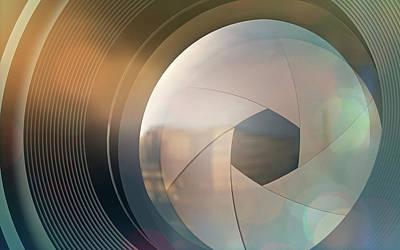 Camera Lens Poster by Ktsdesign