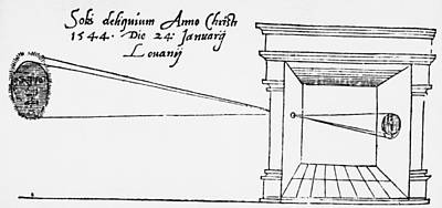 Camera Obscura, 1544 Poster by Granger