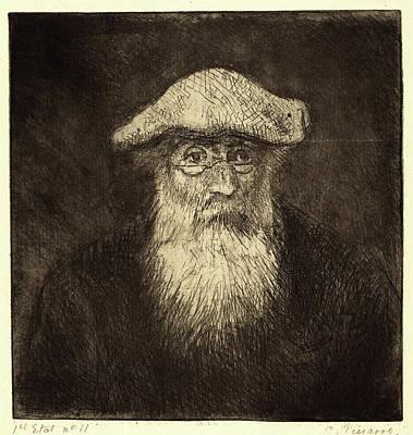 Camille Pissarro, French 1830-1903, Self-portrait Camille Poster