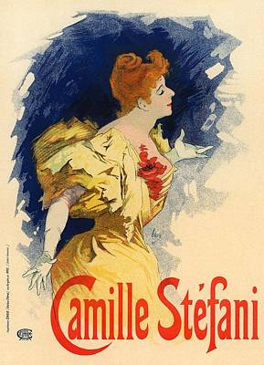 Camille Stefani Poster by Gianfranco Weiss