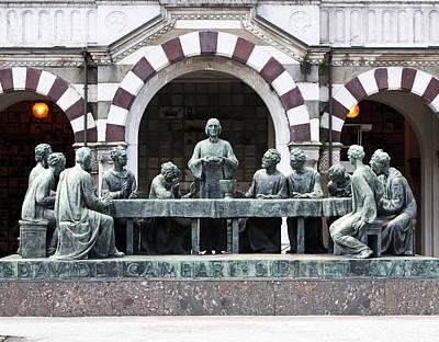 Campari Grave Marker Last Supper Monumental Cemetery Milan Italy Poster