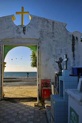 Campeche Malecon Poster