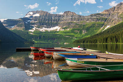Canada, Alberta, Waterton Lakes Poster by Jamie and Judy Wild