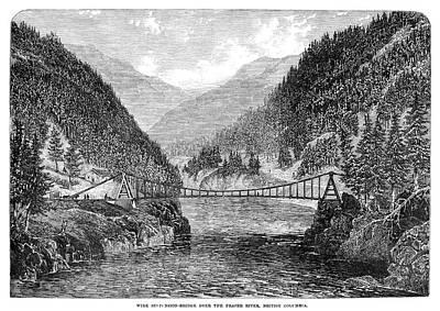 Canada Fraser River, 1866 Poster