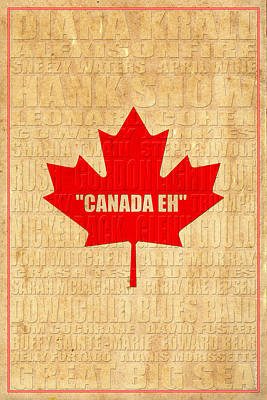 Canada Music 2 Poster by Andrew Fare