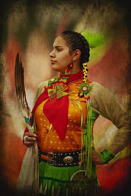Canadian Aboriginal Woman Poster