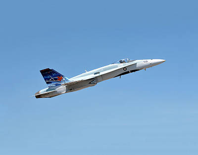 Poster featuring the photograph Canadian Cf18 by Jim Poulos