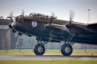 Canadian Lancaster Bomber Poster