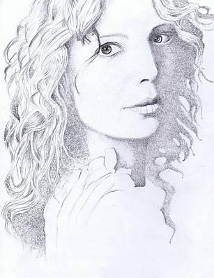 Canadian Songstress Poster by Paul Smutylo