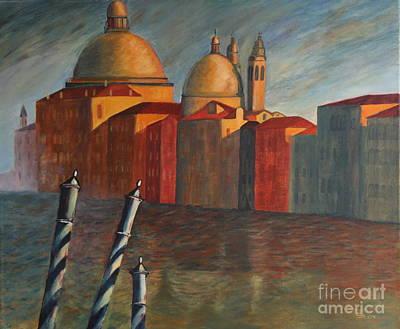 Canale Grande Venice Poster