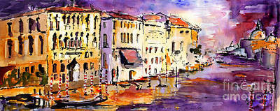 Canale Grande Venice Italy Poster