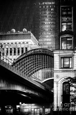 Canary Wharf Noir3 Poster by Jack Torcello