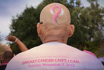 Cancer Sucks Poster by Fraida Gutovich