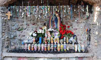 Candels And Rosaries Poster