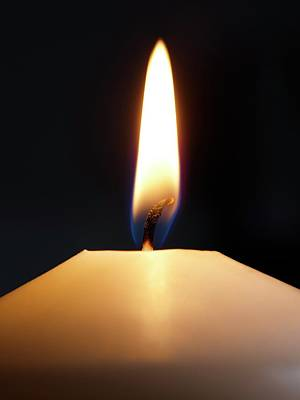 Candle Flame Poster by Science Photo Library