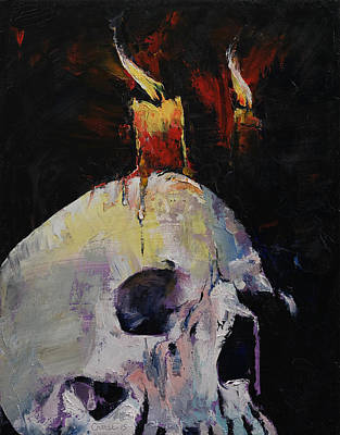 Candles Poster by Michael Creese