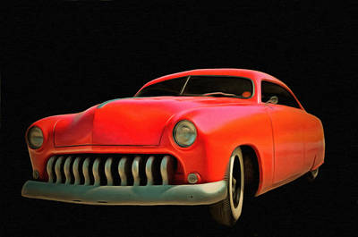 Candy Apple Red  Poster by L Wright