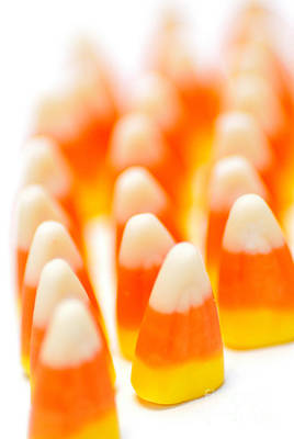 Candy Corn Army Poster by Amy Cicconi