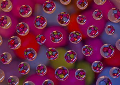 Candy Drops Poster by Brendan Quinn