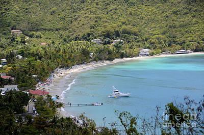Cane Garden Bay Tortola Poster