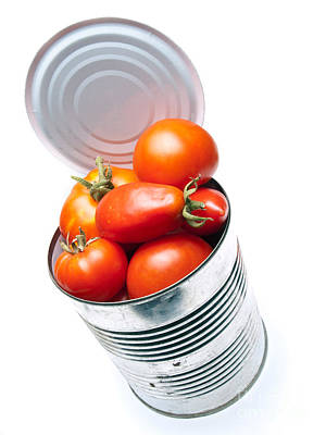 Canned Tomato Poster