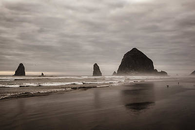 Cannon Beach Needles Poster