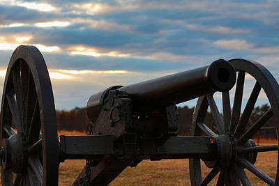 Cannon Of Manassas Battlefield Poster