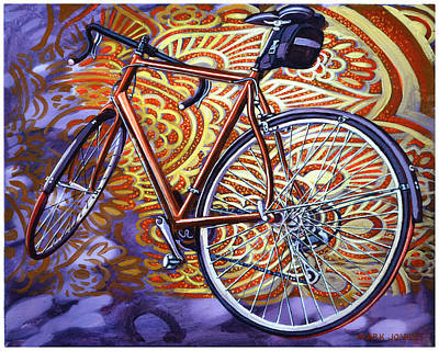 Poster featuring the painting Cannondale by Mark Howard Jones