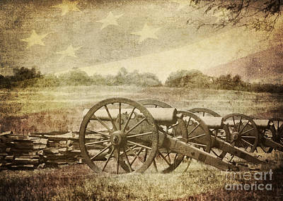 Cannons At Pea Ridge Poster