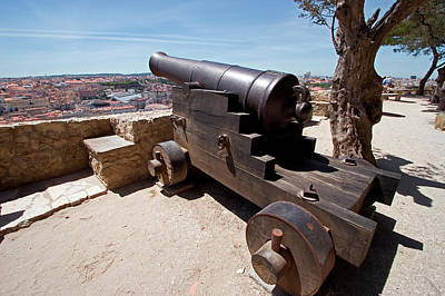 Canon, Castelo De Sao Jorge, Lisbon Poster by Susan Degginger