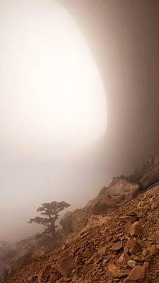Canyon Fog Poster by Dustin  LeFevre