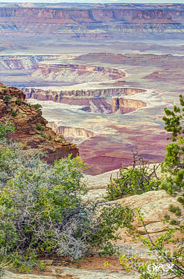 Poster featuring the photograph Canyon Lands by Wanda Krack