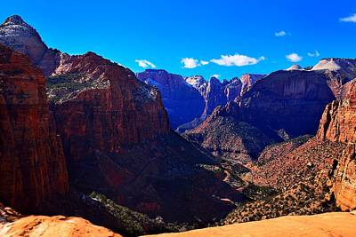 Canyon Overlook Trail Poster