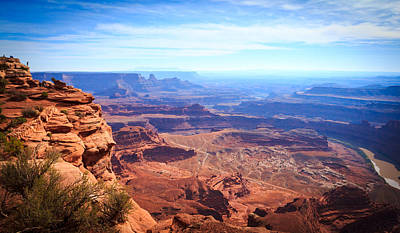 Poster featuring the photograph Canyonlands - A Landscape To Get Lost In by Peta Thames