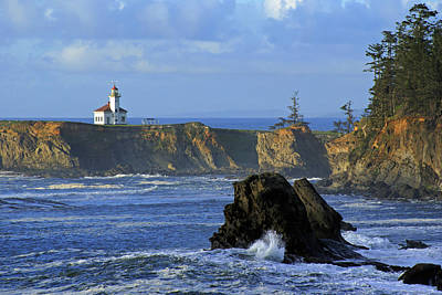 Cape Arago Lighthouse Poster