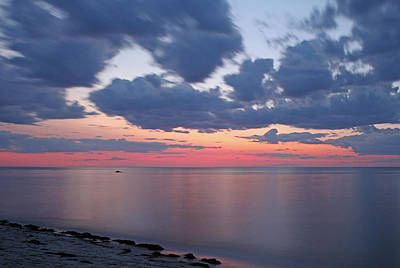 Cape Cod Bay Sunset Poster by Juergen Roth