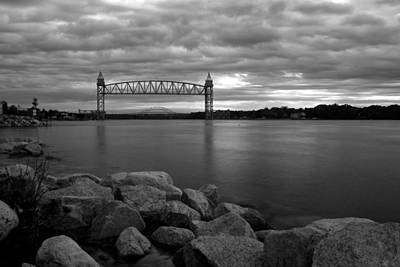 Poster featuring the photograph Cape Cod Canal Train Bridge by Amazing Jules