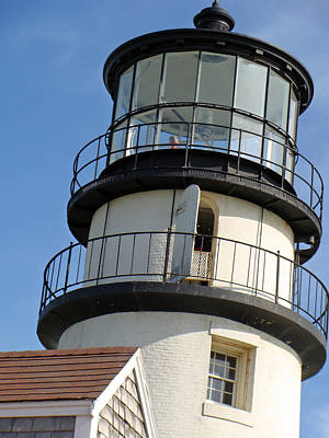 Poster featuring the photograph Cape Cod Lighthouse by Ira Shander
