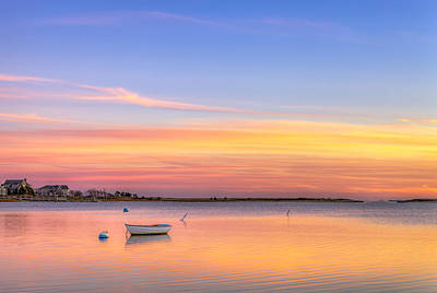 Cape Cod Sunset Poster by Michael Petrizzo