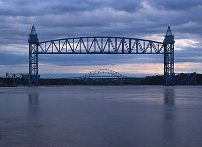 Cape Cod Train Bridge Poster