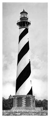 Cape Hatteras Lighthouse Poster by Greg DiNapoli