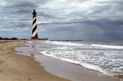 Poster featuring the photograph Cape Hatteras Lighthouse by Tom Brickhouse