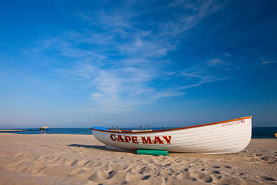 Poster featuring the photograph Cape May by Brad Brizek