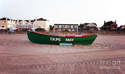 Cape May Poster by John Rizzuto
