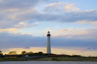 Cape May Lighthouse In Autumn Poster