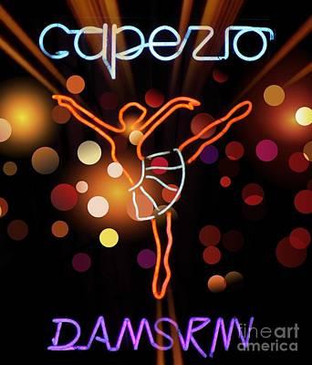 Capezio Poster by Lilliana Mendez