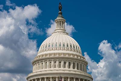 Capital Dome Washington D C Poster
