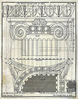 Capital Drawing Poster